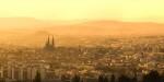 Clermont-Ferrand au lever du jour