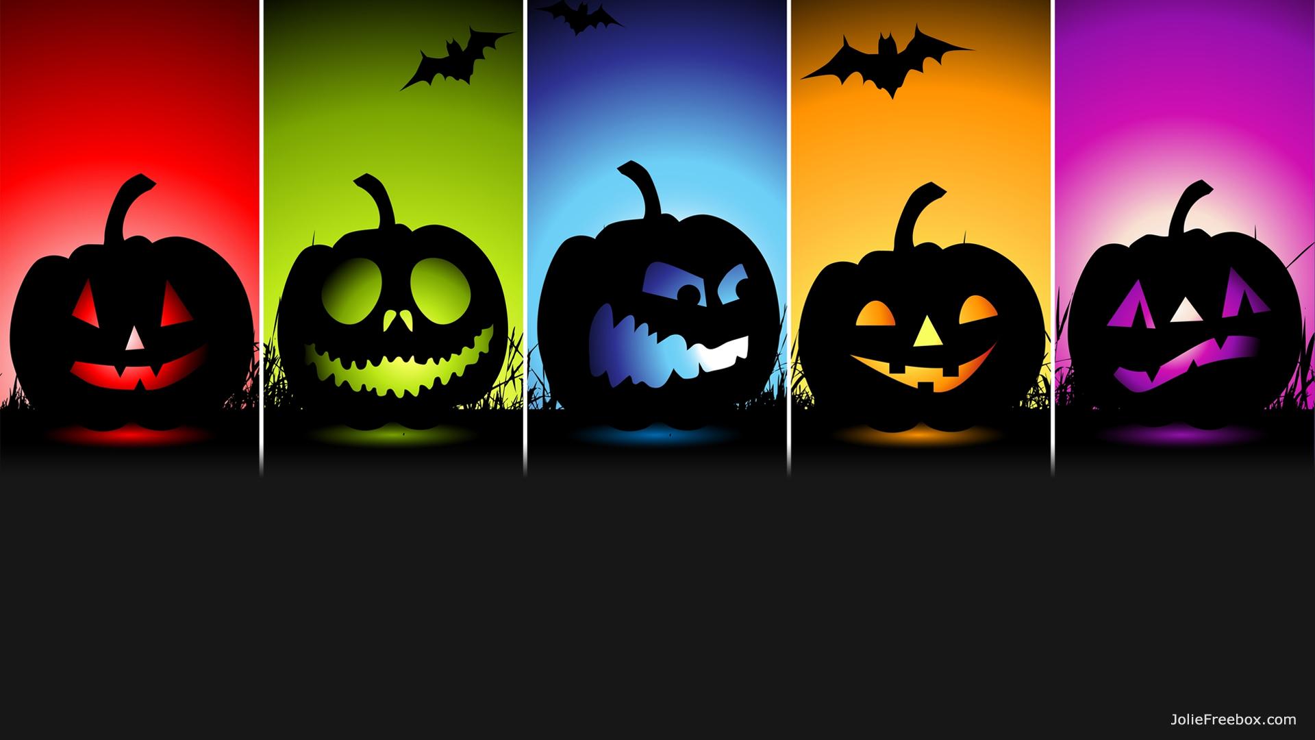 Cinq citrouilles pour f ter halloween sur votre box free - Citrouille halloween dessin couleur ...