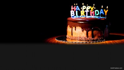 Gâteau Happy Birthday