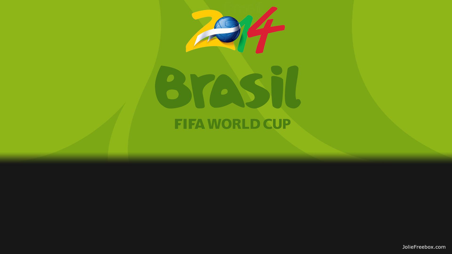 Brasil FIFA World Cup en fond d'écran de votre Freebox