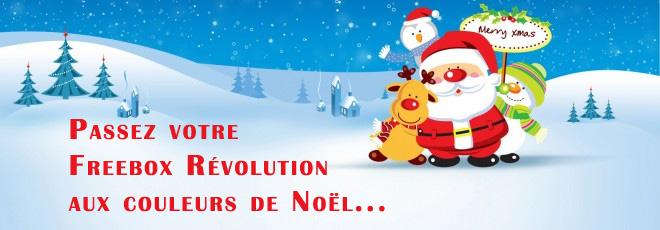 Freebox en mode Noël